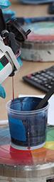 preparazione all'applicazione dei prodotti vernicianti liquidi