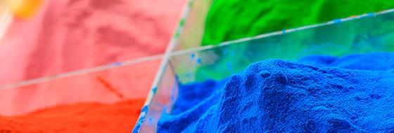 applicazione dei prodotti vernicianti in polvere