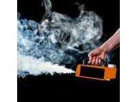 Test rilevazione flussi d'aria in cabina di verniciatura (fumogeno)
