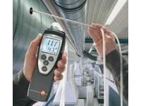 Rilevazione velocità e temperatura dell'aria (anemometro)