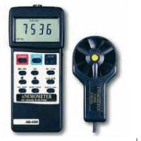 Anemometro-termometro-calcolo portata