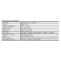 Datalogger umidità e temperatura DL-2
